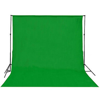 1pc Photo Studio Chromakey Green Screen Muslin Backdrop Cotton Background