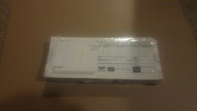 LONG  1 PART Credit Card Imprinter Sale Slips & Credit Charge Receipt 100 each