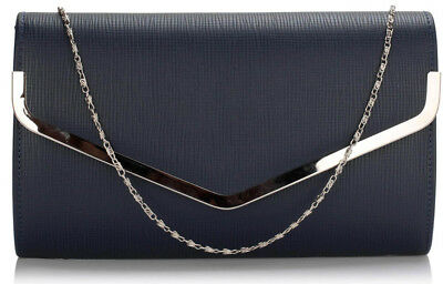 Large Envelope Clutch Bags Womens Long Handbags Ladies Shoulder Flap Purses New