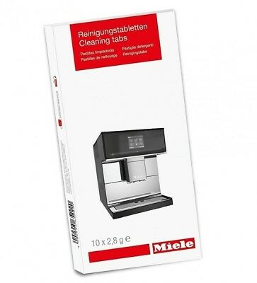 Miele Cleaning Tablets (10/20/30 Pack) Coffee Machines Espresso 10270600 Genuine