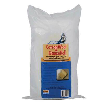 Kelato Highly Absorbent Cotton Wool & Gauze Roll For Horses Equine 30cm x 3.5mt
