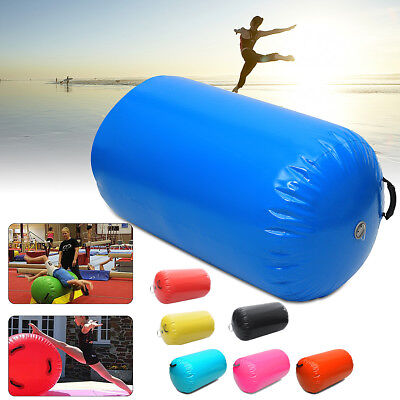 NEW Inflatable Air Roller Home Small 65cm Gymnastics Cylinder GYM Gymnastic Beam