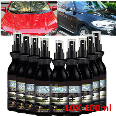 10 Pack Ceramic Protect Car Paint Protection Rain Repellent Glass Mirror Coating