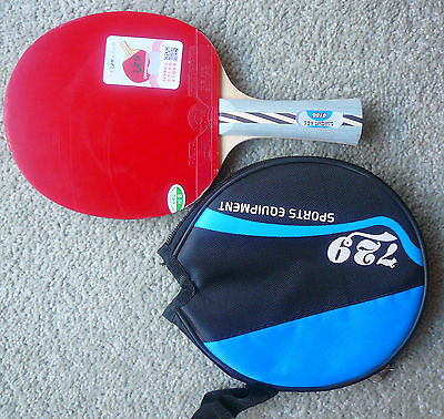 Friendship Table Tennis Bat: RITC2010 w/ 729 Faster + RITC729 rubbers, Melbourne