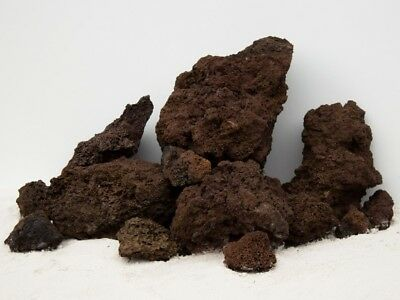 Brown Lava Rock Ideal For Plants Carved Natural Stone For Fish Tank Aquarium