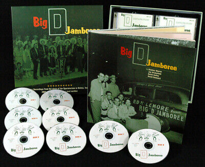 Various - Record Label Profiles - Big 'D' Jamboree (8-CD Box) - Classic Count...