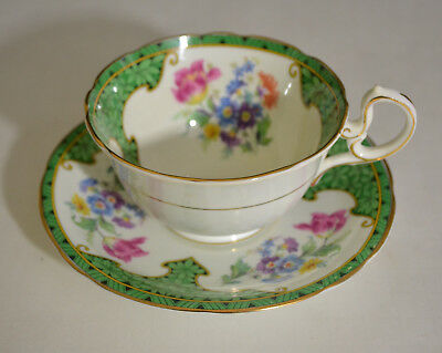 Vintage Aynsley Teacup With Saucer Fine Bone China England From 1930S