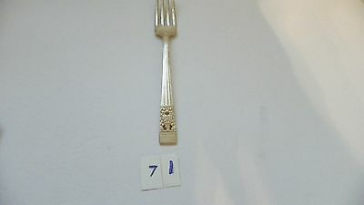 Oneida Community Coronation Dinner Fork  Silverplate    1936