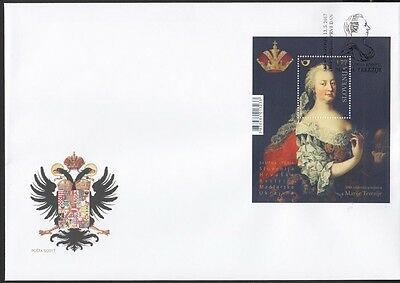 Slovenia Slovenien 2017  MNH** 2017-8a FDC 300th Aniv Maria Theresia joint Issue