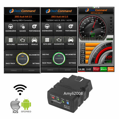 KW902 ELM327 WiFi OBD2 OBDII Car Code Read Diagnostic Scanner For Android  iPhone