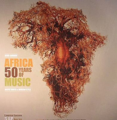 VARIOUS - Africa 50 Years Of Music: Deeply Roots & Modern Style - Vinyl (LP box)
