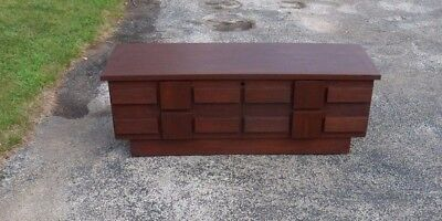 """Lane Brutalist Style Chest; 48"""" wide"""