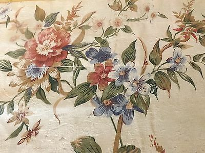 Vintage look Curtain LARGE Valance Shabby French Country Cottage Garden Chic