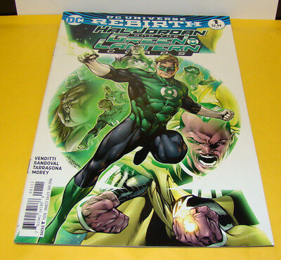 DC Rebirth Hal Jordan and the Green Lantern Corps #1 (DC Comics) 1st Print