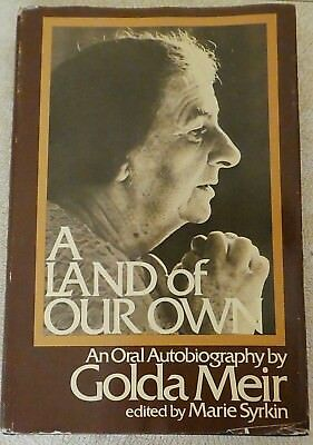 A Land of Our Own by Golda Meir