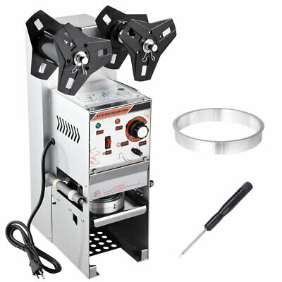 Electric Semi-automatic Bubble Tea Cup Sealer Commercial Sealing Machine