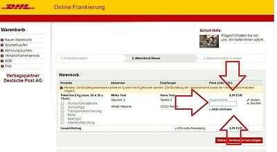 dhl paketmarke paket bis 5 kg deutschland online gutschein einl sbar beim kauf eur 5 29. Black Bedroom Furniture Sets. Home Design Ideas