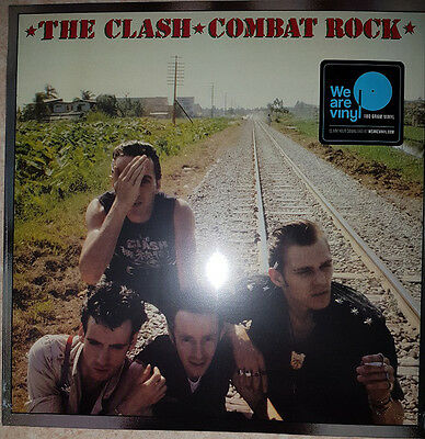 Clash - Combat Rock - Sealed 180g Vinyl LP Should I Stay Or Go Rock The Casbah