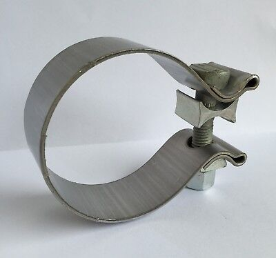 "2.75"" 70mm Stainless Steel Heavy Duty Exhaust Band Clamp Magnaflow 10163"