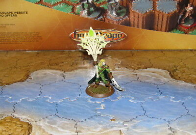 No Card Acolarh Ullar Flag Bearer Heroscape D&D mini Elf lord high banner