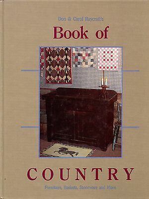 Country Collectibles - Furniture Baskets Boxes Stoneware Toys Textiles..../ Book