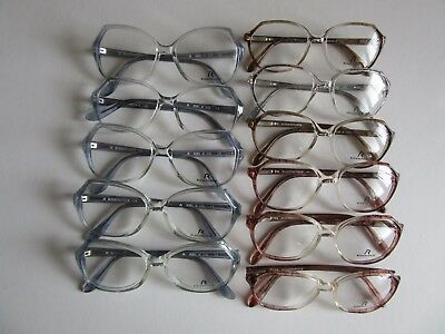 Lot of 11 Rodenstock Women Eyeglass Frames, Small Sizes Vintage NOS