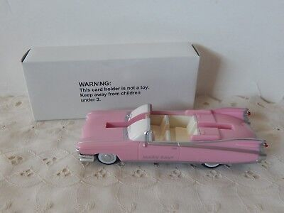 Mary Kay Cosmetics Collectible Pink Cadillac Car Business Cards Holder Display