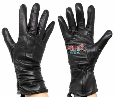 Women's Genuine Leather 40 gram Thinsulate Insulated Winter Warm Driving Gloves