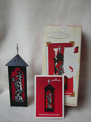 2002 Hallmark Keepsake Ornament Three Kings Lantern