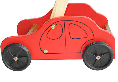 Wooden Baby Toy - Car Walker - 100% Brand New