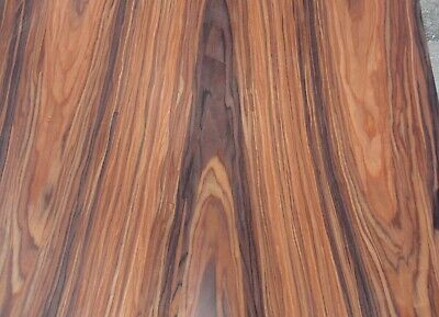 """Rosewood composite wood veneer 48"""" x 48"""" with paper backer 1/40th"""" thick (#2305)"""