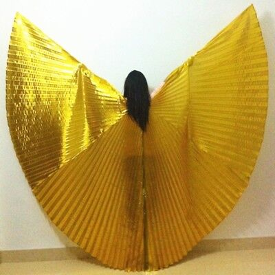 Egypt Shiny Belly Dance Wings Costume Fancy Isis Wings Dance Wear Wing Egyptian