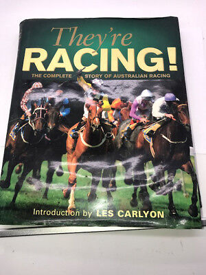 They're Racing Australian Horse Racing Melbourne Cup Day Book