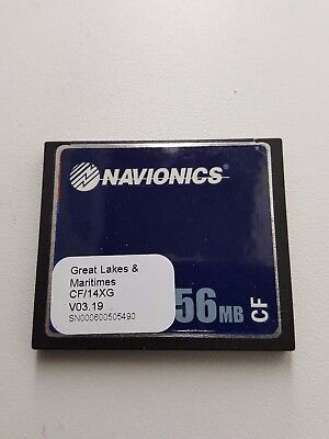 NAVIONICS CF/14XG CANADA GREAT LAKES & MARITIMES GPS Data Card