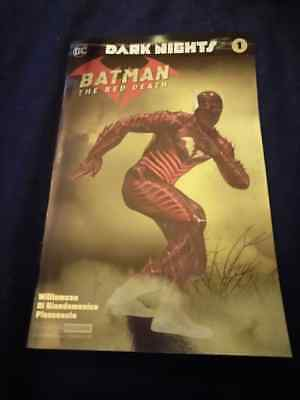 Batman The Red Death 1 - Nycc Silver Foil Variant!