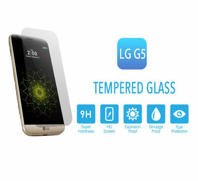 2pcs X HD Premium Screen Protector Tempered Glass Protector Film For LG G5