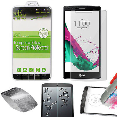 2pcs X HD Premium TEMPERED GLASS FILM LCD SCREEN PROTECTOR FOR LG G4