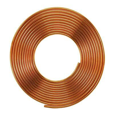 "1/4"" x 5m SOFT COPPER PIPES R410A Copper COIL PANCAKE TUBE AIR CONDITIONER HVAC"