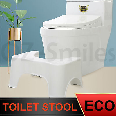 "Sit And Squat Squatty Potty Eco Toilet Stool 8.5"" Healthy Colon AU Stock 1X 2X"
