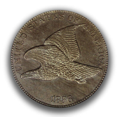 1856 1C Flying Eagle Cent PCGS MS64