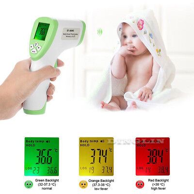Baby Adult Body Care Non-Contact Forehead Infrared Medical Digital Thermometer