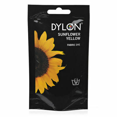 New Dylon Fabric Hand Dye - Fabric Dying - Sunflower Yellow