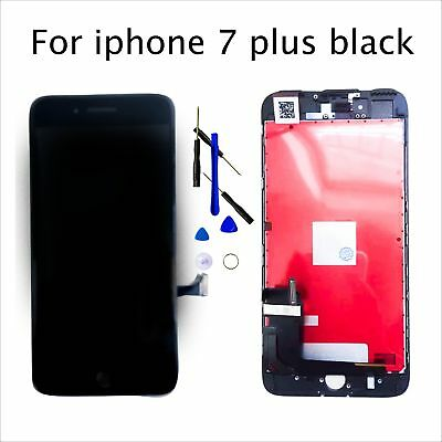 """Black For iPhone 7 Plus LCD Touch Screen Digitizer Assembly Replacement 5.5"""""""