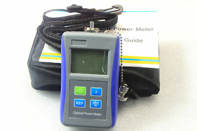 Fiber Optic Test Digital Handheld Optical Power Meter -70+10 dBm FC Adaptor