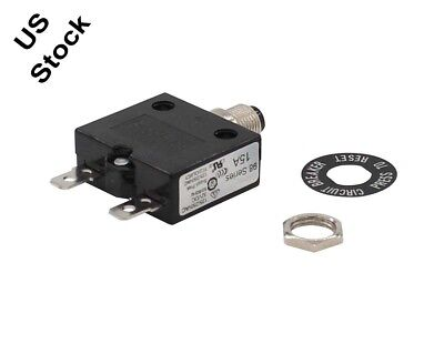 New 15A KUOYUH Circuit Breaker 98 series 32VDC 125/250VAC High Quality