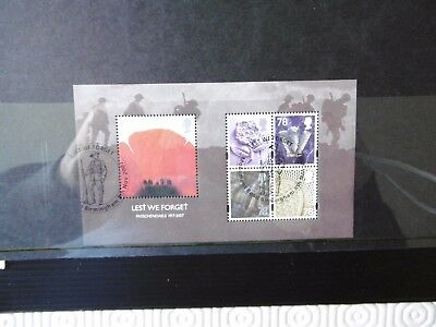 GB 2007 Lest We Forget - Passchendaele - Fine used