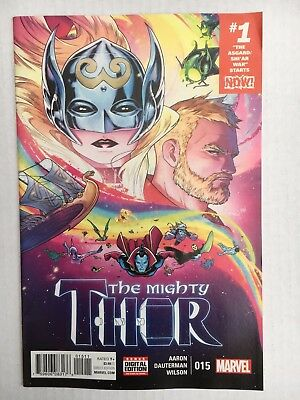 Marvel Comics: The Mighty Thor #15 (2017) - BN - Bagged and Boarded
