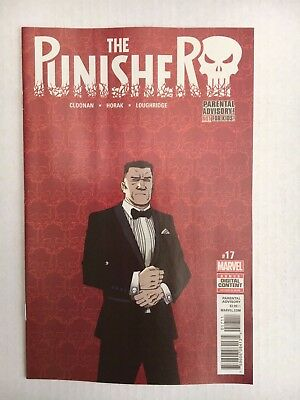 Marvel Comics: The Punisher #017 (2017) - BN Bagged and Boarded