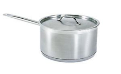 3.5 Qt Commercial Stainless Steel Sauce Pan - Nsf