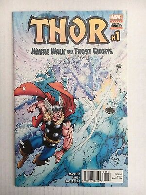 Marvel Comics: Thor: Where Walk the Frost Giants #1 (2017) - BN